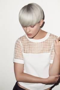 silver grey hair colour trend, newcastle hair salon