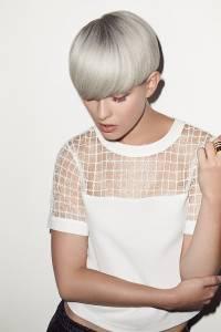 silver grey hair colour trend, newcastle hair salon