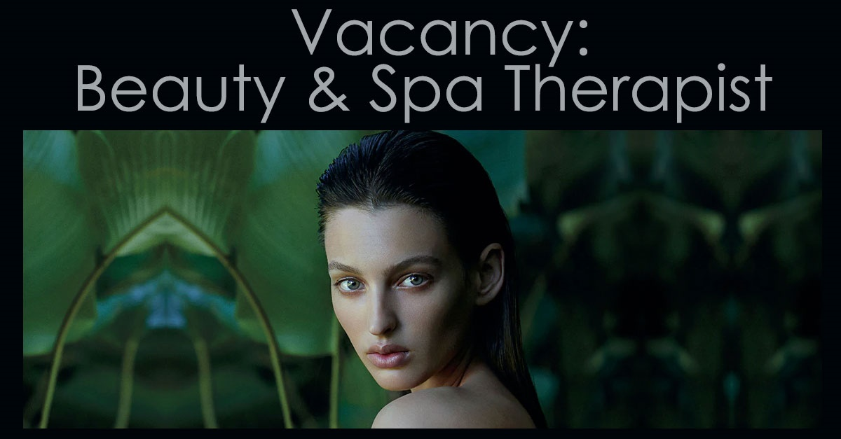vacancy-beauty-spa-therapist in Newcastle