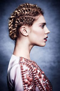 festival hairstyles, newcastle hair & beauty salon