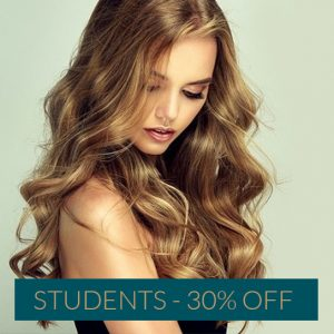 STUDENTS 30 OFF the best hairdressers & spa in Newcastle
