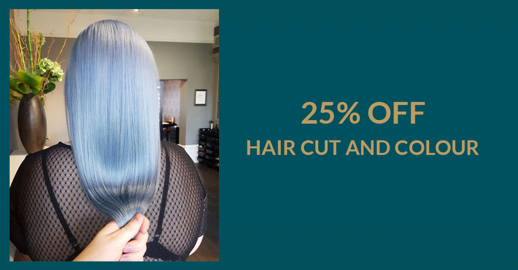 25 OFF HAIR CUT COLOUR the best hairdressers & spa in Newcastle