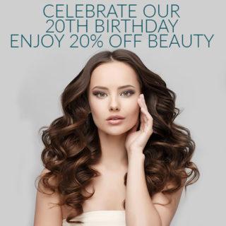 Enjoy 20% OFF Beauty